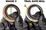 Trail Safe™ Inner Axle Seal