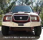 ZOR Chastity Belt style Brush Guard