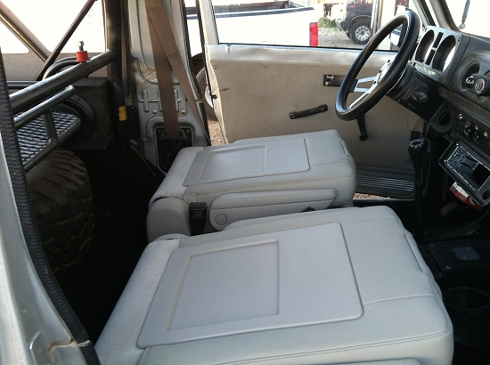 ZOR Seat Swap-the BEST SUPER COMFY brand new T&C seats (both driver and  passenger)