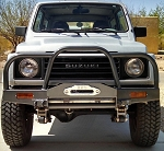 ZOR Front Low Profile Winch Bumper includes Custom Brush Guard