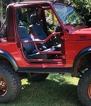 ZOR Tube Doors for SJ413 86-95 Suzuki Samurai