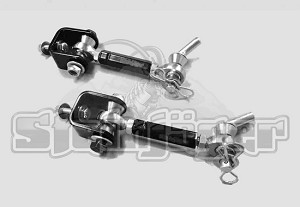 "Jeep Wranger TJ 1997-2006, Front Sway Bar End Link Kit with Quick Disconnect, 0-6"" Lift"