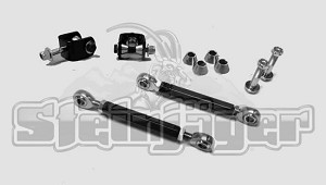 "Jeep TJ Front Sway Bar End Link Kit, Stock Height, 0-6"" Suspension Lift"