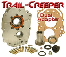 Trail-Creeper™ Dual Transfer Case Adapter