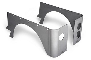 CJ7 CRUSHER CORNERS, MODIFIED - ALUMINUM