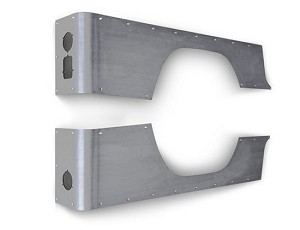 CJ8 CRUSHER CORNERS, STANDARD - ALUMINUM