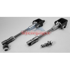 "Jeep TJ Front Sway Bar End Link Kit with Quick Disconnect, 0-6"" Suspension Lift"